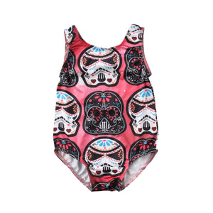 2018 Casual Toddler Baby Boys Girls Wars Bodysuit Sleeveless Jumpsuit Outfit Summer Novelty Clothes-eosegal