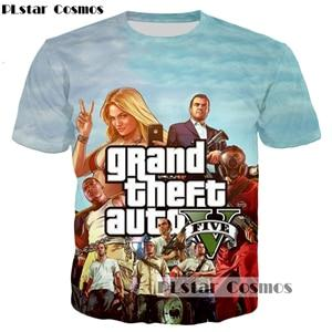2017 New design 3d Sweatshirt Hoodies Hot games Grand Theft Autoeosegal-eosegal