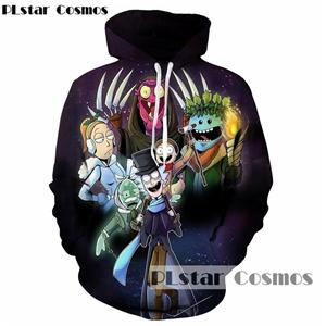 rick and morty Hoodies brand Hooded Men/Women Hat 3d Sweatshirts Cartooneosegal-eosegal