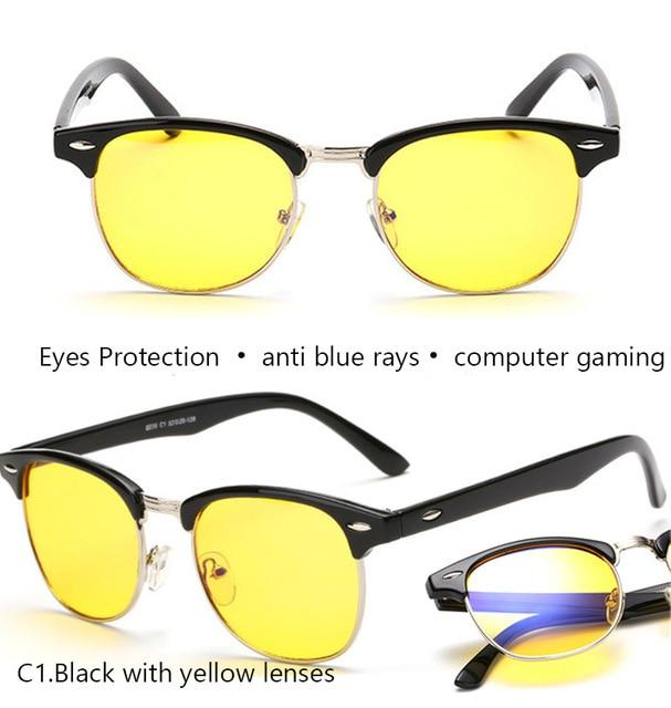 Gaming Glasses Men anti blue rays Computer Glasses for Computer Protectioneosegal-eosegal
