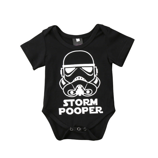 2018 Summer Baby Boy Girl Star Wars Romper Outfits Newborn Clothes 0-18M-eosegal