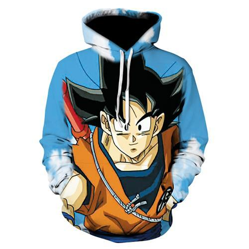 Dragon Ball Z Vegeta Resurrection Hoodies Women Men Anime Super Saiyan Goku/Majineosegal-eosegal