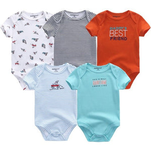 New Baby clothing bodysuit ropa bebe fantasia menina print short sleeve cotton infant costume Roupas de bebe newborn clothes-eosegal