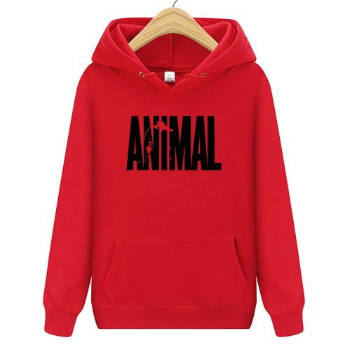 Men'S multicolor Hoodies 2018 Autumn New Animal Hoodies Fashion Printing Cotton Casualeosegal-eosegal