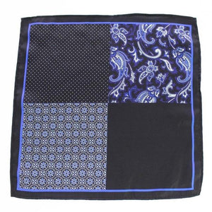 Polka Dot Paisley Floral Handkerchief Silk Satin Mens Hanky Fashion Classiceosegal-eosegal