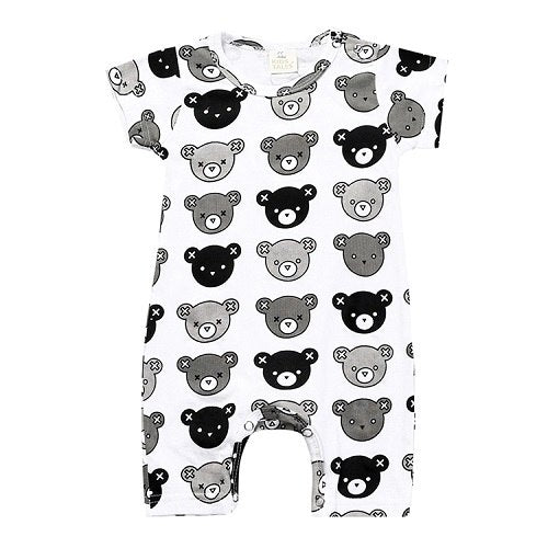 2018 new fashion baby boy and girl clothes with long sleeves cartoon pattern one piece baby overalls newborn clothes XH-242-eosegal