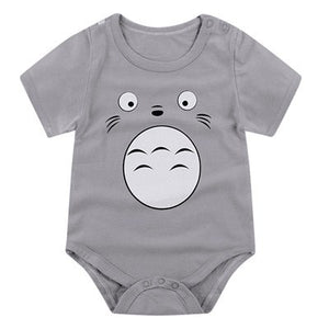 MezyTicky Newborn Soft Cotton Jumpsuit Overalls Baby Fashion Bodysuit Boys Girls Short Sleeve Clothes Infant Underwear Clothing-eosegal