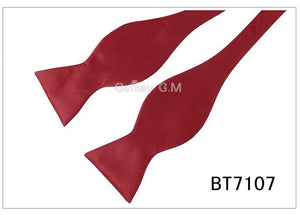Fashion Commercial Mens Bowties For Men Plain Sold Color Silk Self Boweosegal-eosegal