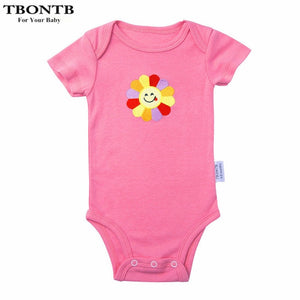 Black Baby Boy Clothes Cotton Newborn Baby Girls Boys Rompers Spring Summer Baby Girl Clothes Clothing Boy 2017 Infant Jumpsuit-eosegal
