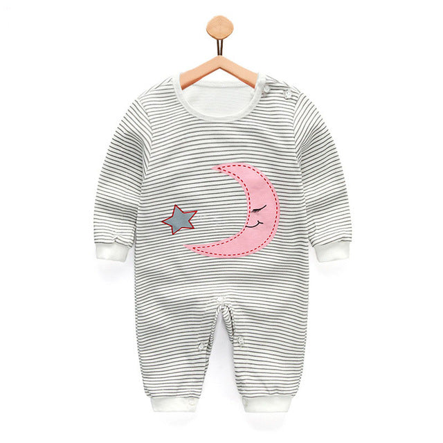 2018 new baby girls boys clothes cute Cartoon baby romper high quality cotton one piece Jumpsuit newborn baby girl clothes-eosegal