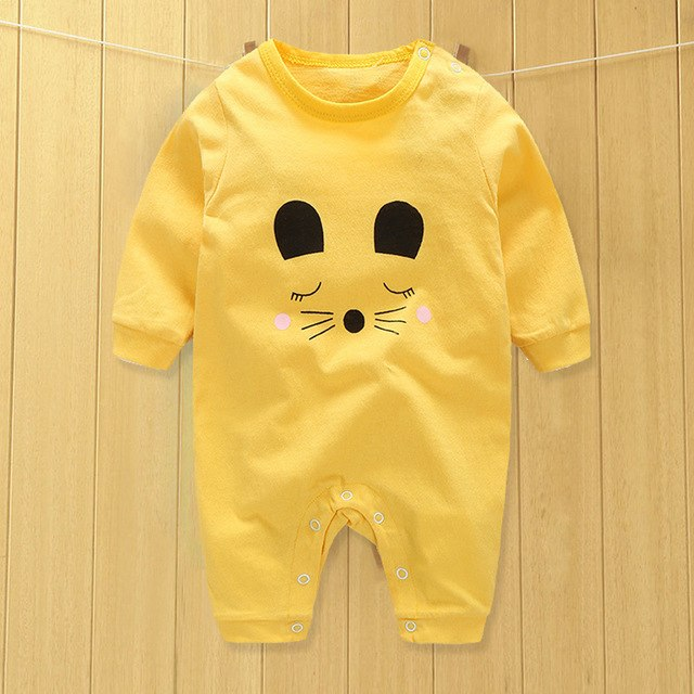 baby clothes new hot 100% cotton winter and autumn baby rompers baby clothing boys/girls/infant/newborn/kids long sleeve clothes-eosegal