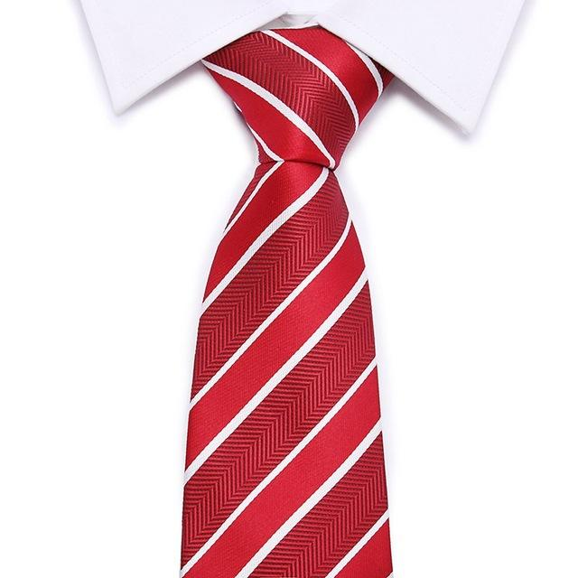 Joy alice Red Christmas Tie 7cm Snowman Ties For Christmas Day Men'seosegal-eosegal