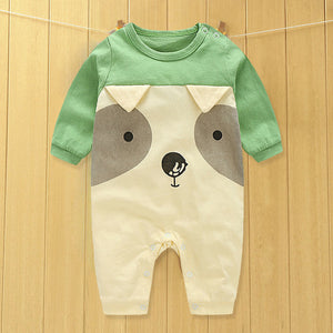 baby clothes new cute cotton winter newborn/infantil/bobysuit/kids rompers love animals boy/girlclothing-eosegal