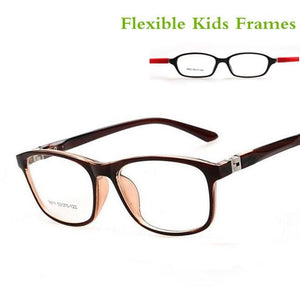 TR90 Children Optical Frame Eyewear Wholesale Eyeglasses 7 Colors Double Color Cooleosegal-eosegal