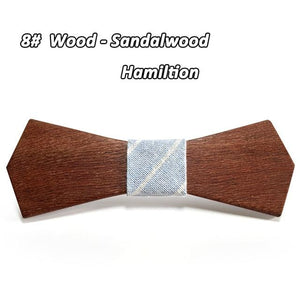 2017 Hot Fashion men wooden bow tie Accessory wedding Event hardwoodeosegal-eosegal