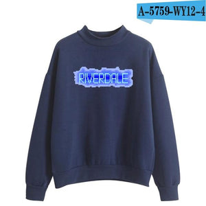 Riverdale Hit TV Plays Oversize Turtlenecks Hoodies Sweatshirts Women/Men Hoodies Looseeosegal-eosegal