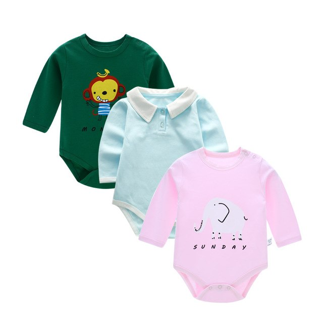 Solid Baby Girl Bodysuit Long Sleeve Newborn Infant Bodysuit Baby Boy Body Girls Bodie Clothes For Boys Baby Bodysuit For Babies-eosegal
