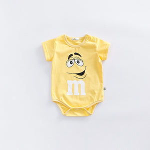 Fantasia Baby Bodysuit Infant Jumpsuit Overall Short Sleeve Body Suit Baby Clothing Set Summer Cotton DS19-eosegal