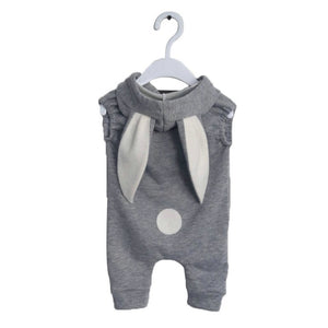 Belababy Newborn Baby Boy Clothes 2018 Rompers Baby Summer One Piece Outfit Rabbit Hooded Overall For Baby Girl Onesie-eosegal