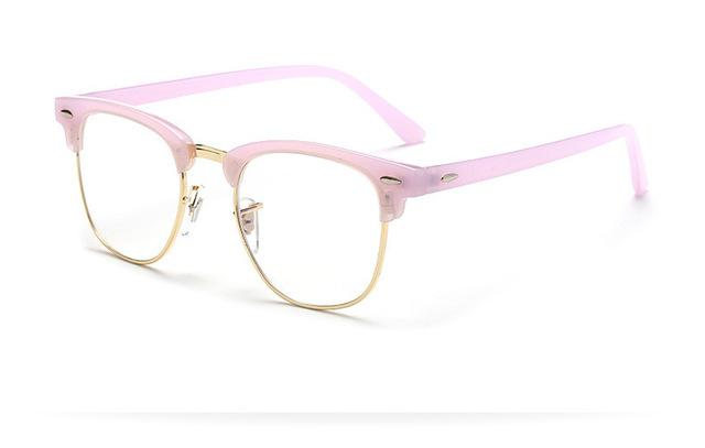 Hot New Men Women Myopia Eyeglasses Transparent Vintage Eye Glasses Frame Fashioneosegal-eosegal