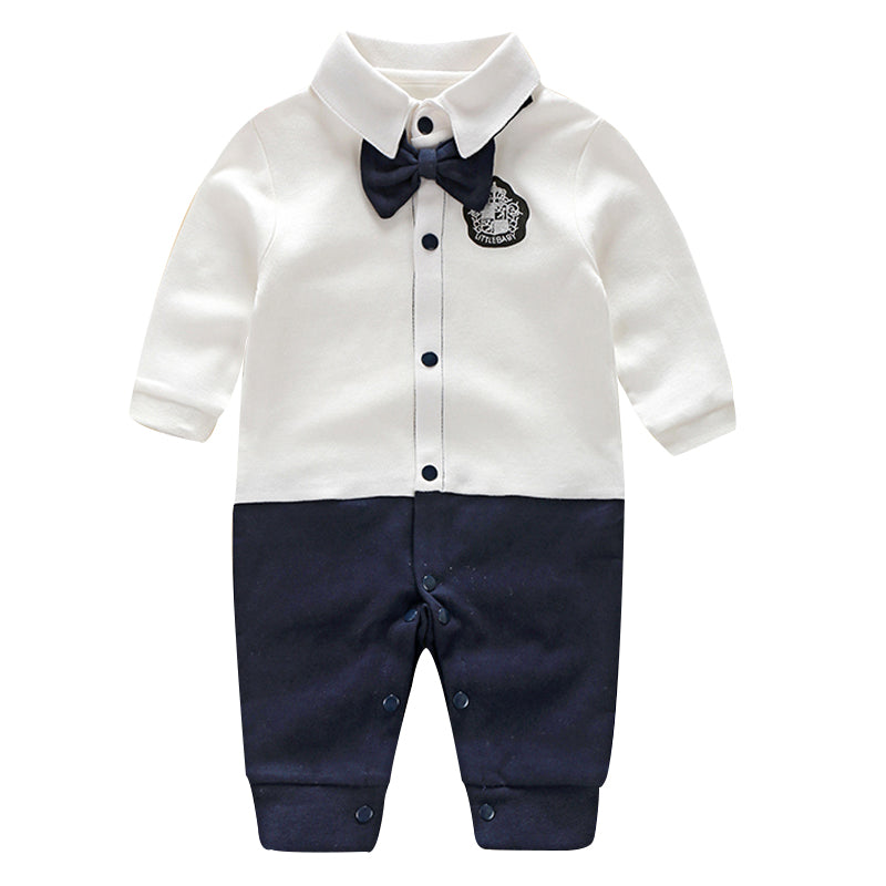 Toddler Baby Rompers Autumn Roupas Infant Jumpsuits Boy Clothing Sets Newborn Baby Clothes Spring Cotton Baby Girl Clothing-eosegal