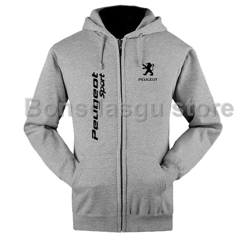Zipper Hoodies Men/Women Sweatshirt Winter Peugeot zipper Sweatshirt Men/Women zipper hoodieeosegal-eosegal