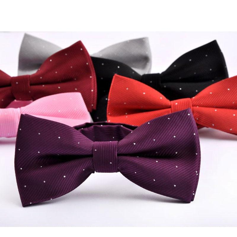 NEW Man's Classic Bowtie for business Fashion Neckwear Adjustable Mens Bow Tieeosegal-eosegal