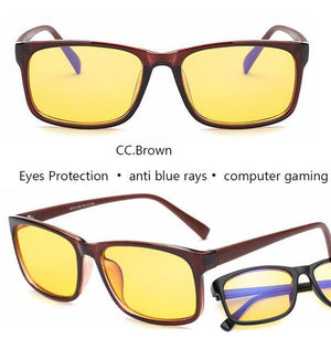 anti blue rays computer Glasses Men Blue Light Coating Gaming Glasseseosegal-eosegal