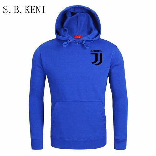2018 Brand New Men Juventus Hoodies Pullover Hip Hop Fleece Fashion eosegal-eosegal