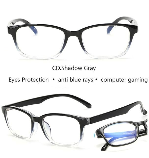 Computer Glasses Frames Anti Blue Rays Radiation Men Women Square Glasseseosegal-eosegal