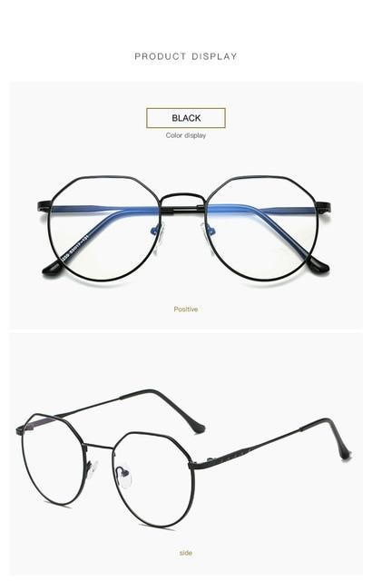 Computer Glasses 2017 Eyewear Frame Anti Blue Light Game Glass metaleosegal-eosegal