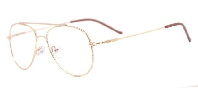 TendaGlasses Metal Full Rim Small Pilot Eyeglass Frames Men Glasses For Prescriptioneosegal-eosegal