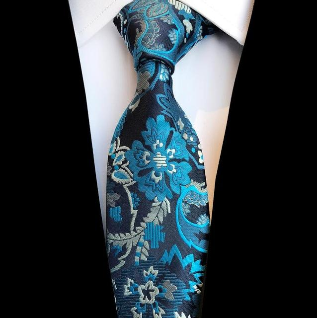 New Arrivel Floral Tie For Men Quality Silk Jacquard Woven Gravataeosegal-eosegal
