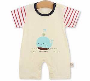 new born baby boy clothes summer baby boy romper short sleeve newborn boy rompers clothing toddler romper girl costume pajamas-eosegal