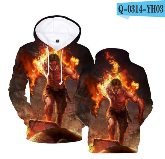 Aikooki Yellow And Blue 3D Fire Hoodies Men Sweatshirts Women Hoodies 3Deosegal-eosegal
