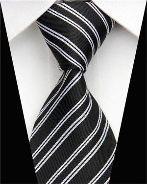 Business Work Tie for Men Suit Necktie Skinny Slim Narrow Man Silkeosegal-eosegal