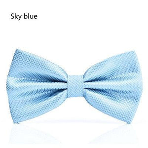 Men's Tie men Solid necktie boy Men's Fashion Wedding Party Neck Tieeosegal-eosegal