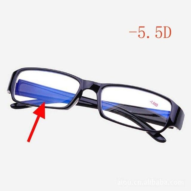 Fashion Mens Women Unisex Myopia Glasses Short Sight Eyewear with Blue Coatedeosegal-eosegal
