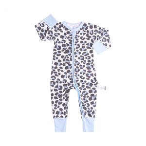 Infant Jumpsuit Long Sleeves Floral Romper Baby Boy Girl Clothes Tiny Cottons New Born Toddler Onesie Overall Outfit Pajamas-eosegal