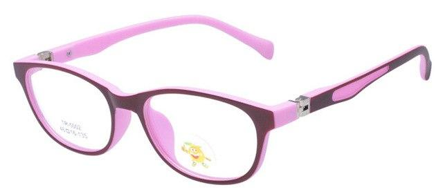 TR90 Children's Anti Computer Blue Radiation-resistant Kids Eyeglasses Goggles Boys Girls Opticaleosegal-eosegal