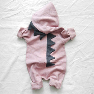 Newborn Baby Girls Boys Romper Jumpsuit Clothes Funny dinosaur Infant Outfits Spring Autumn Baby Clothes-eosegal