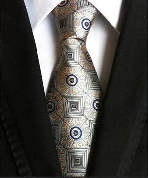 8cm Men's Ties New Man Fashion Neckties Corbatas Gravata Jacquard Silk Tieeosegal-eosegal