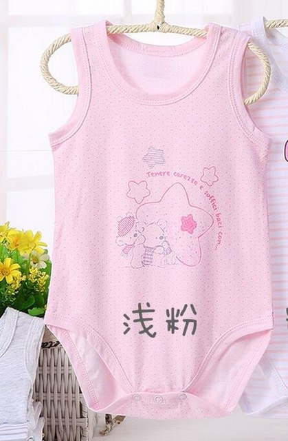 Baby pyjamas kids clothes 100% cotton baby rompers jumpsuit sleeveless short Sleeves body suis boy girl clothes baby clothing-eosegal