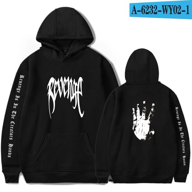 Xxxtentacion Revenge Cool Hoodies Men/Women Hot Sale Sweatshirts Rapper Hip Hopeosegal-eosegal