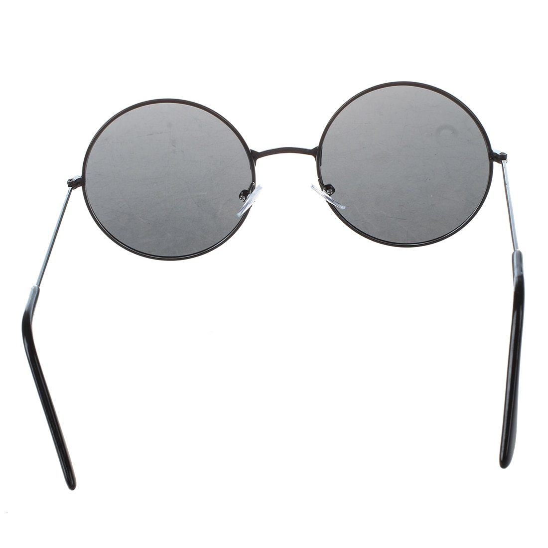 Trendy Men Women Metal Frame Black Lens Round Sunglasses Glasses Eyeweareosegal-eosegal
