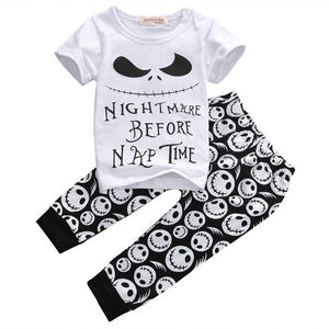 2pcs Toddler Kids Baby Boy Short Sleeve T-shirt Tops+Pants Trousers Outfits Clothing Set NEW-eosegal