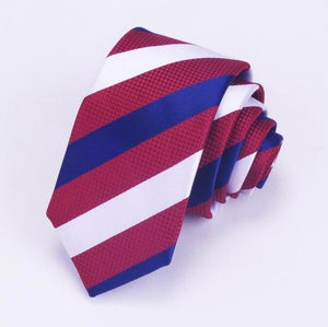 6cm Skinny Men Neck Ties Fashion Dot Striped Plaid Necktie Gravataeosegal-eosegal