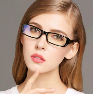 Black Luxury Anti Blue Light Radiation Computer Glasses Women Clear Lens Glasseseosegal-eosegal
