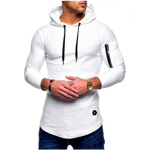 2018 New Fashion Mens Hoodies Brand Men Solid color Sweatshirt Male Hoodyeosegal-eosegal