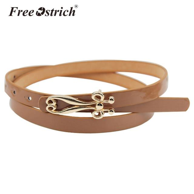 Free Ostrich Belts Women Girl Ceinture Homme Casual Solid Automatic Buckle Canvas Waist Strap High Quality Dropshipping B0120-eosegal